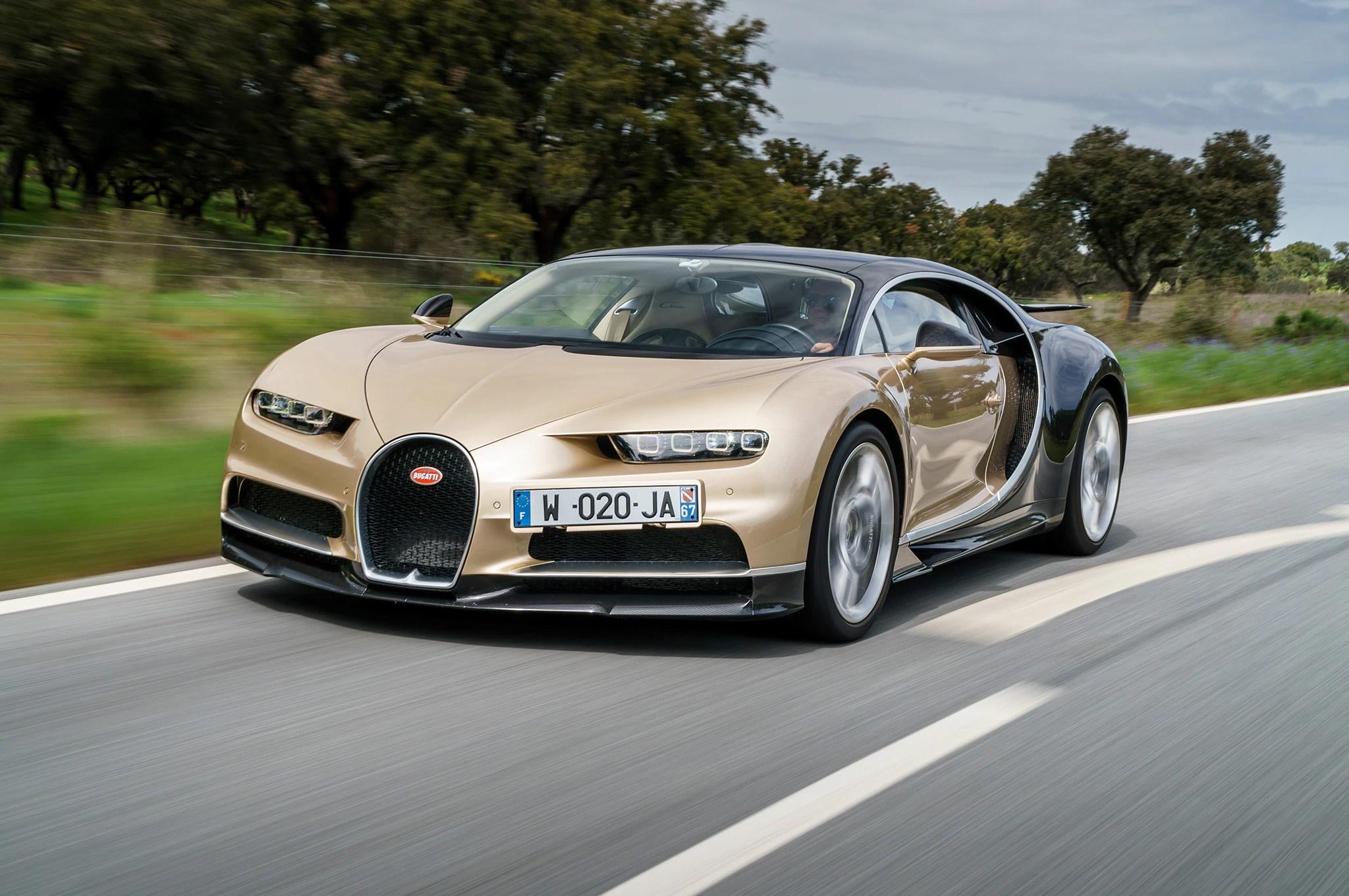 2018 Bugatti Chiron First Drive Review  Automobile Magazine