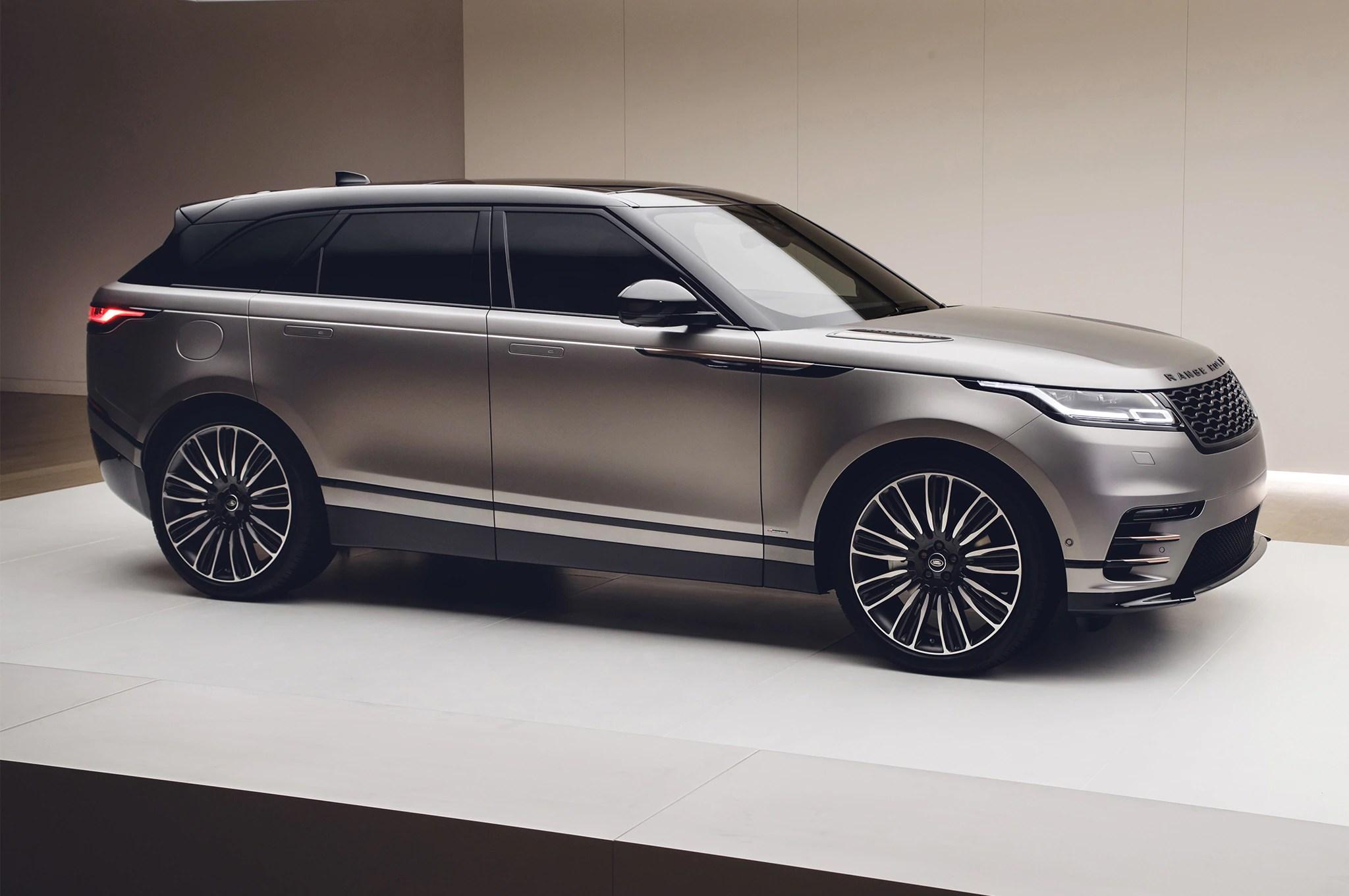 First Look 2018 Range Rover Velar