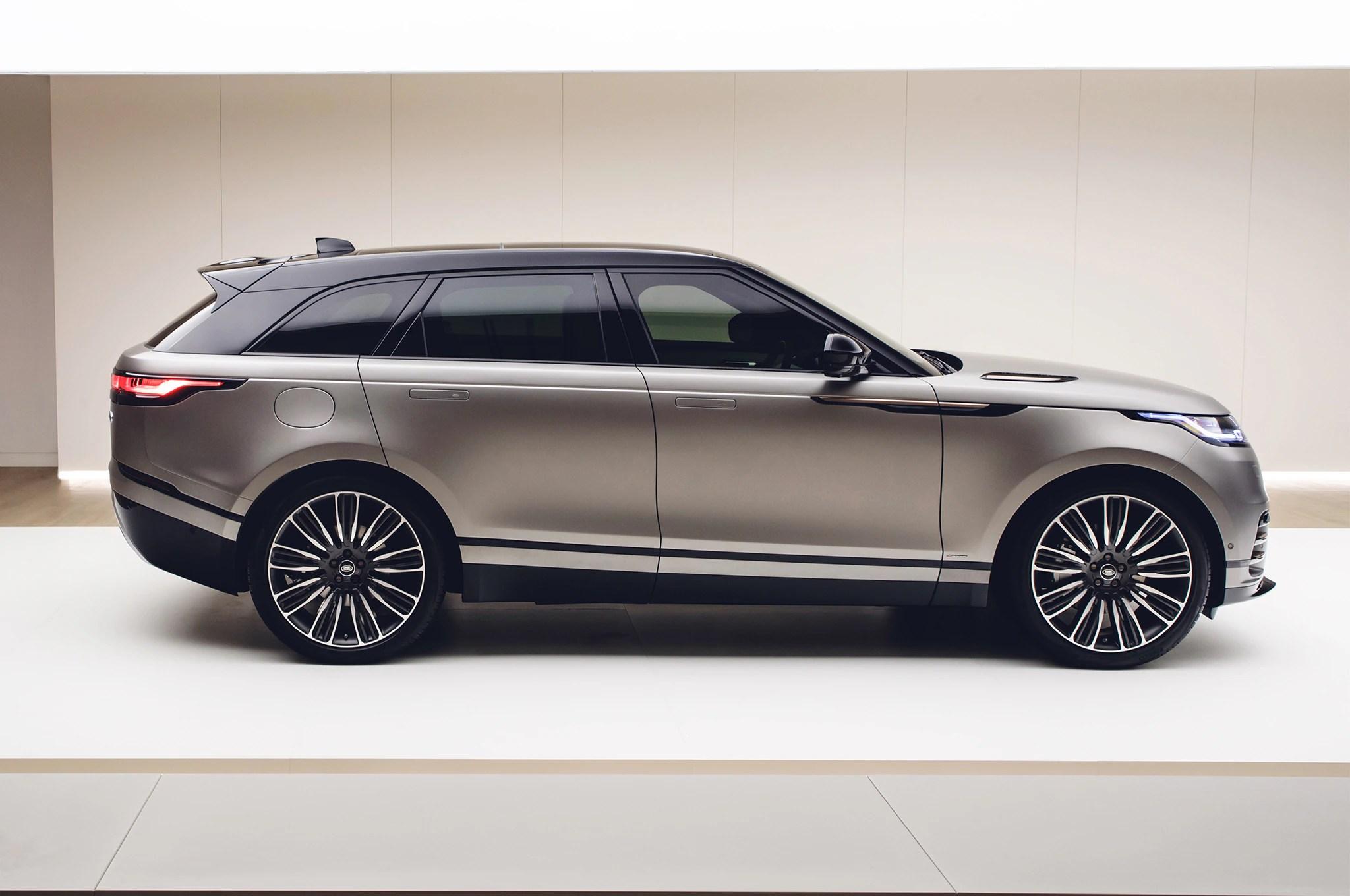 First Look 2018 Range Rover Velar  Automobile Magazine