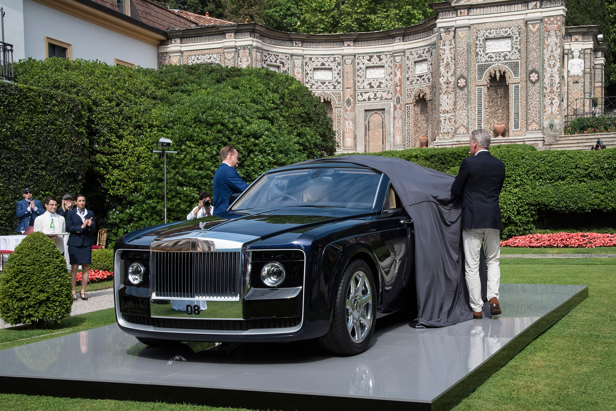 Phantom Car Wallpaper Rolls Royce Sweptail Brings Ultra Luxe Coach Building Into