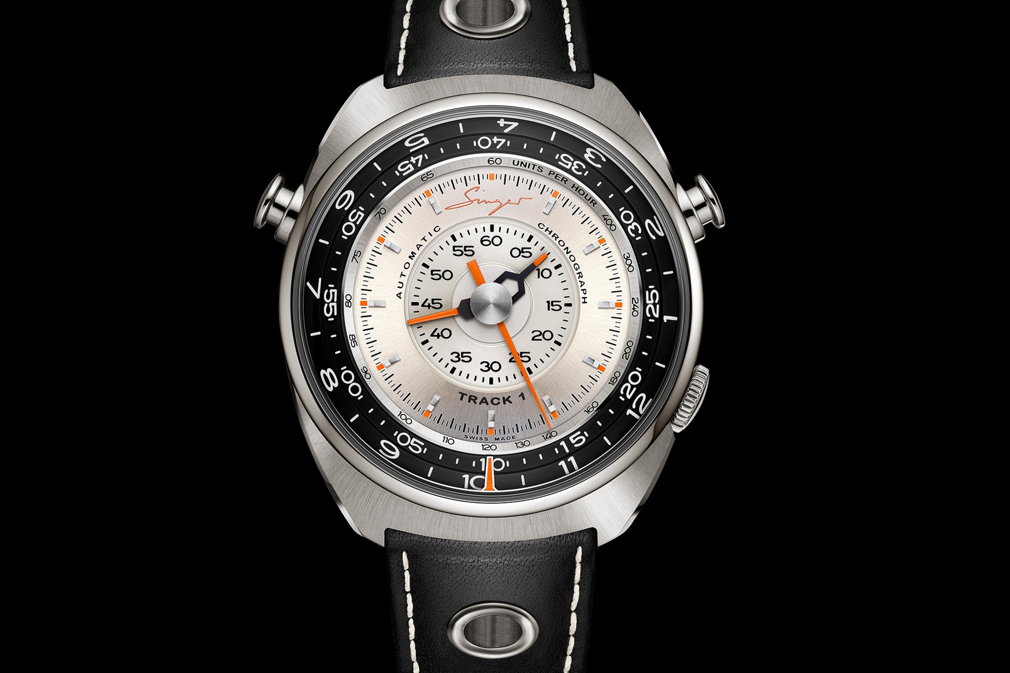 Singer Vehicle Design Releases First Watch, The Track 1