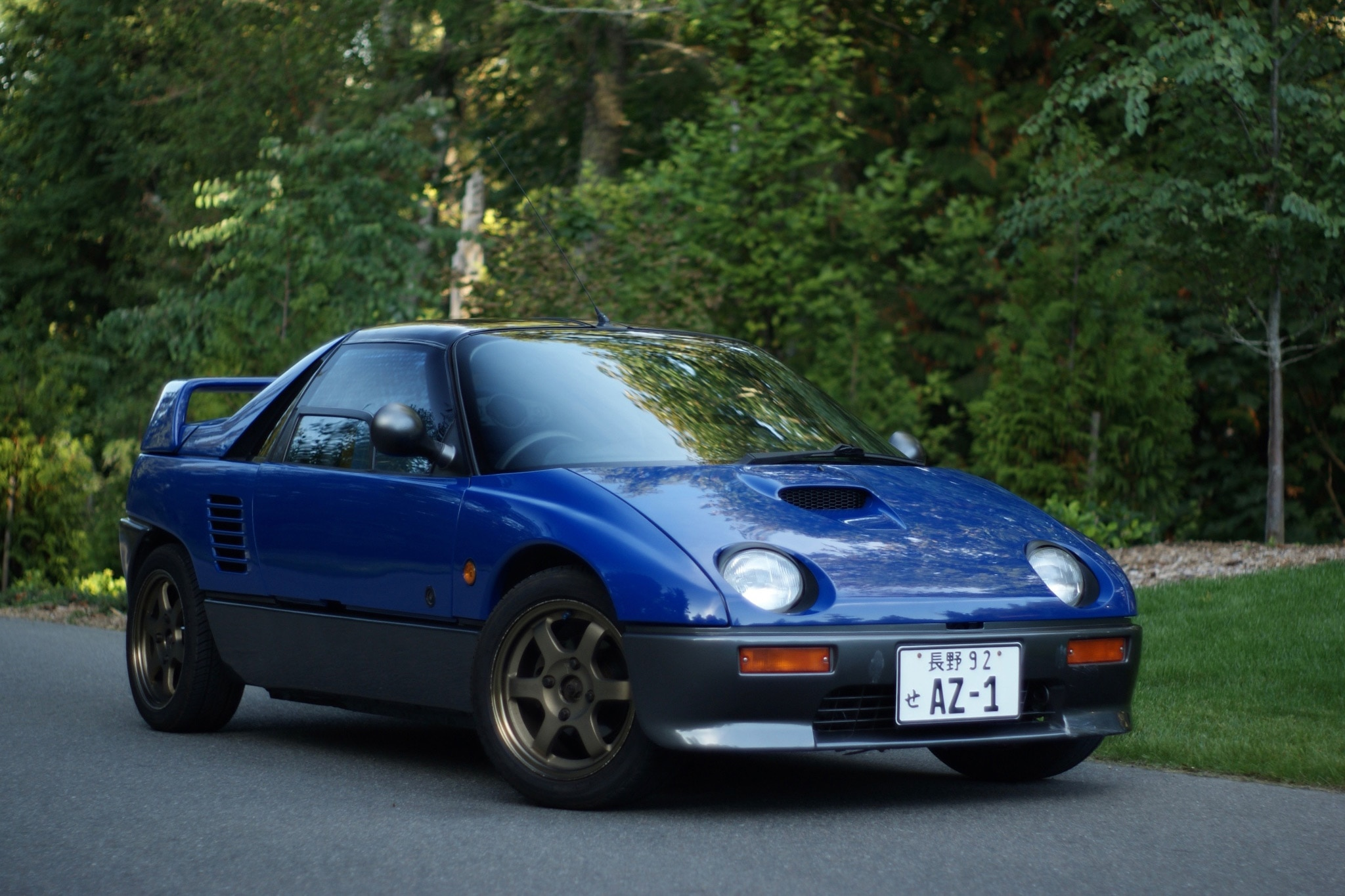 just listed 1992 autozam
