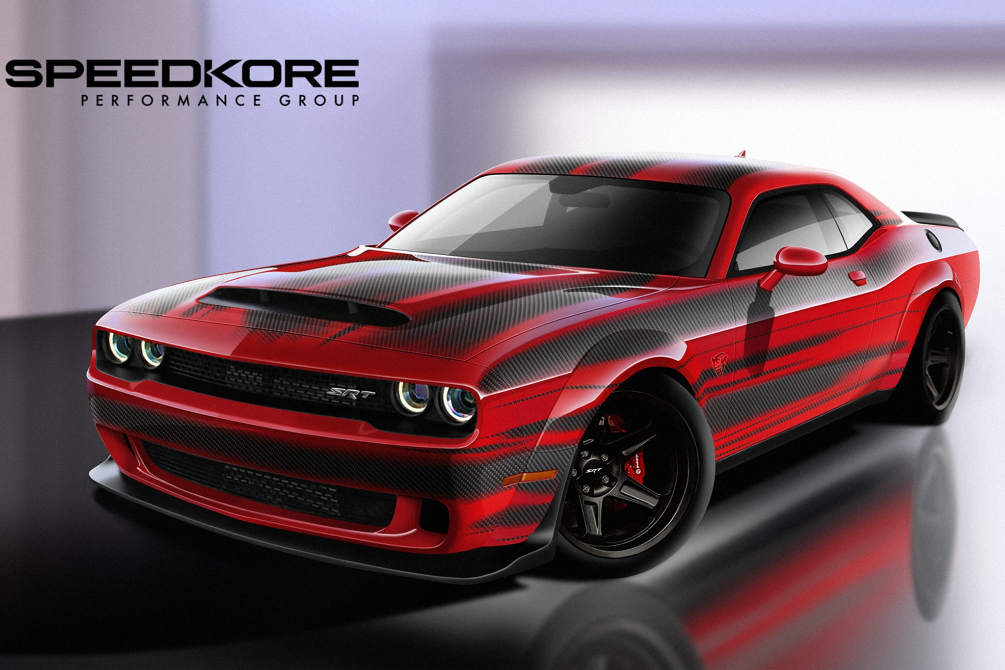 speedkore reveals dodge challenger srt demon with carbon