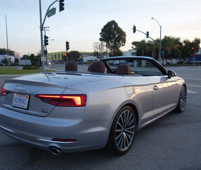 For Starters You Wont Mistake This Audi A For A Chrysler Sebring Well Maybe At Night But Probably The Best Thing About This A Is That Its A Cabriolet