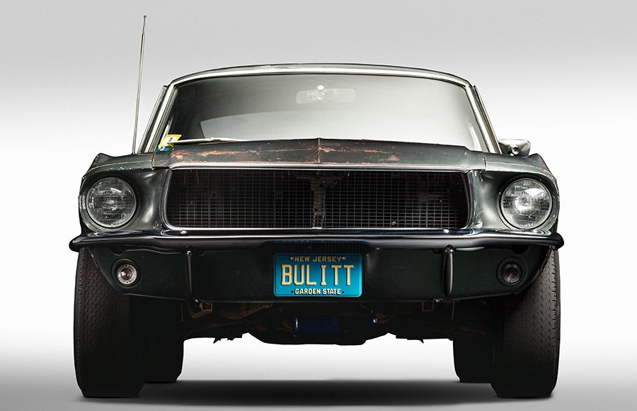 1968 Ford Mustang Fastback From Bullitt Is The Rusty