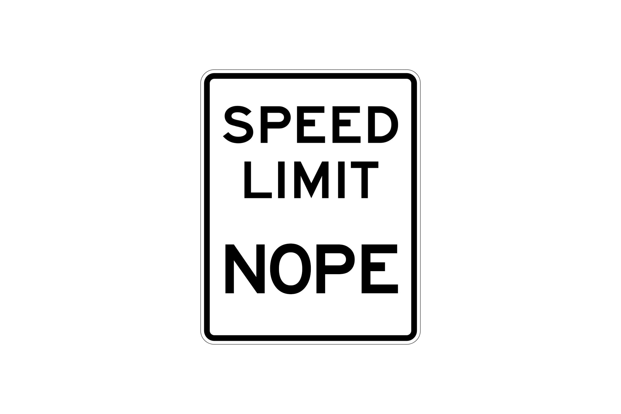 No Speed Limits? California Considering