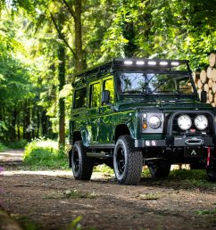 arkonik s restored land rover forager d110 is very cool automobile magazine [ 2048 x 1365 Pixel ]