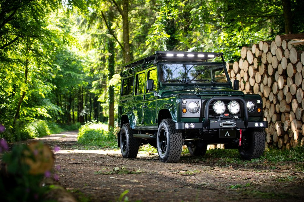 medium resolution of arkonik s restored land rover forager d110 is very cool automobile magazine