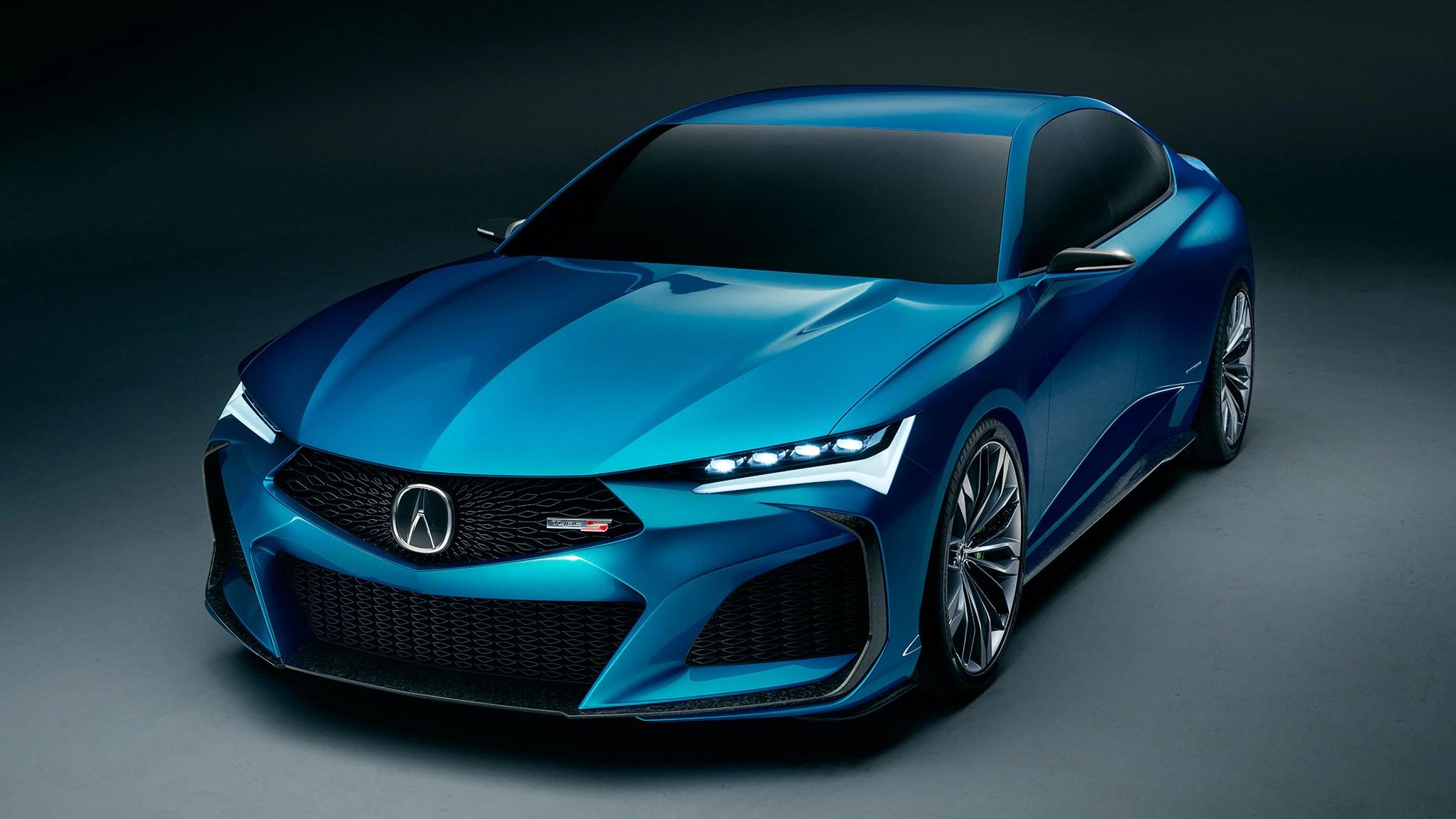 Acura Type S Concept Promises Renewed Focus On Performance