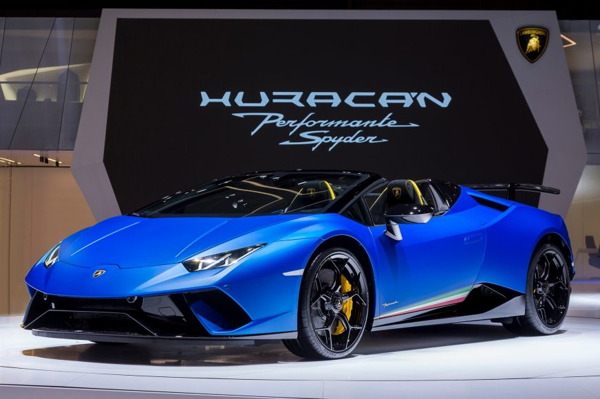 Lamborghini Huracan Performante Spyder Coming This Summer ...
