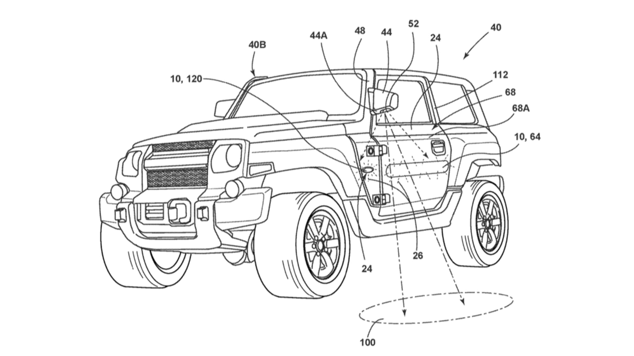 2021 Ford Bronco's Side Mirrors Might Look Strange