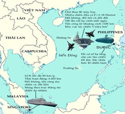 """Biển Đông không phải là """"ao nhà"""" của Trung Quốc."""