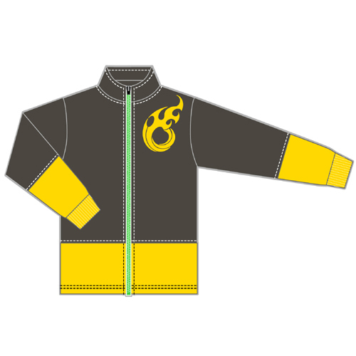The Idolm@ster (Idolmaster) SideM W Jersey [Long-sleeved] Yusuke Aoi Color /