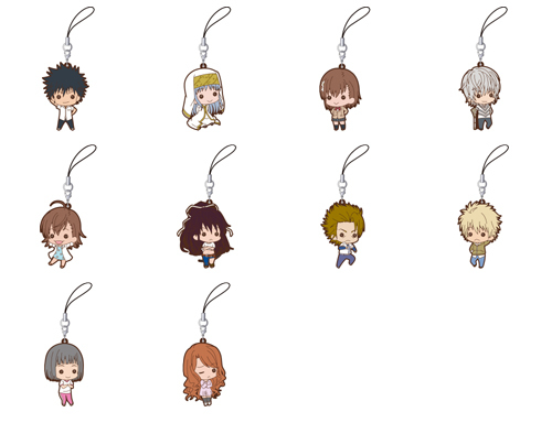 A Certain Magical Index Rubber Strap Collection Box