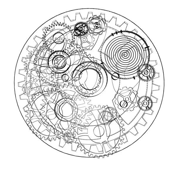 Mecanismo da mola Fotografias, Mecanismo da mola Imagens