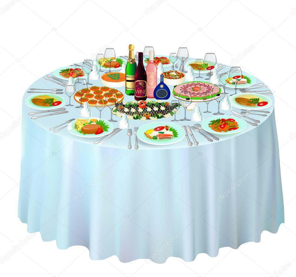 white kitchen buffet ready made island for 联欢晚会在白色的自助餐 图库矢量图像 c yurkina 34263631 图库矢量图片