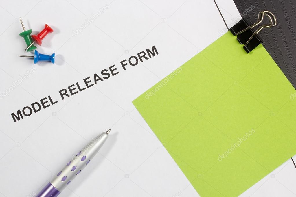 Model Release Form — Stock Photo © VIPDesignUSA #18937075