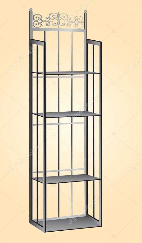 metal kitchen shelves rooms to go tables 金属面包师机架 图库矢量图像 c vipdesignusa 27156399 存储的面包店的成分的金属厨房架子 矢量图 矢量图片vipdesignusa