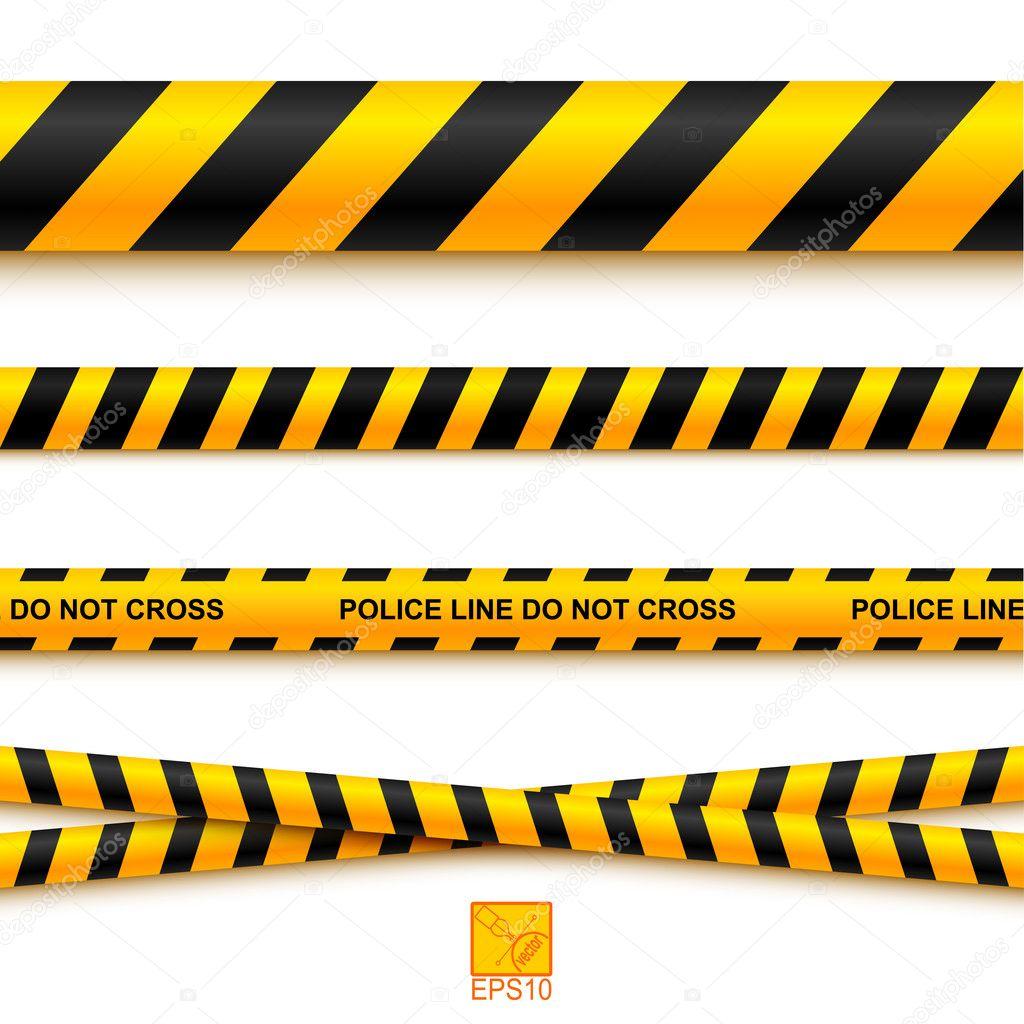 Tape Police Caution