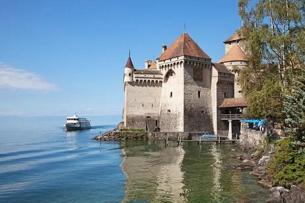 Castello di Chillon Lago di Ginevra Svizzera  Foto