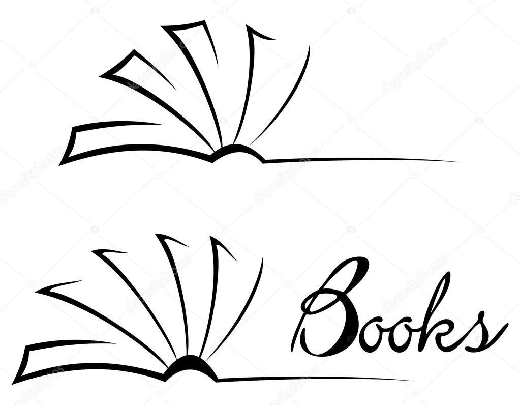 símbolo de livro — Vetor de Stock © oxygen64 #14549661