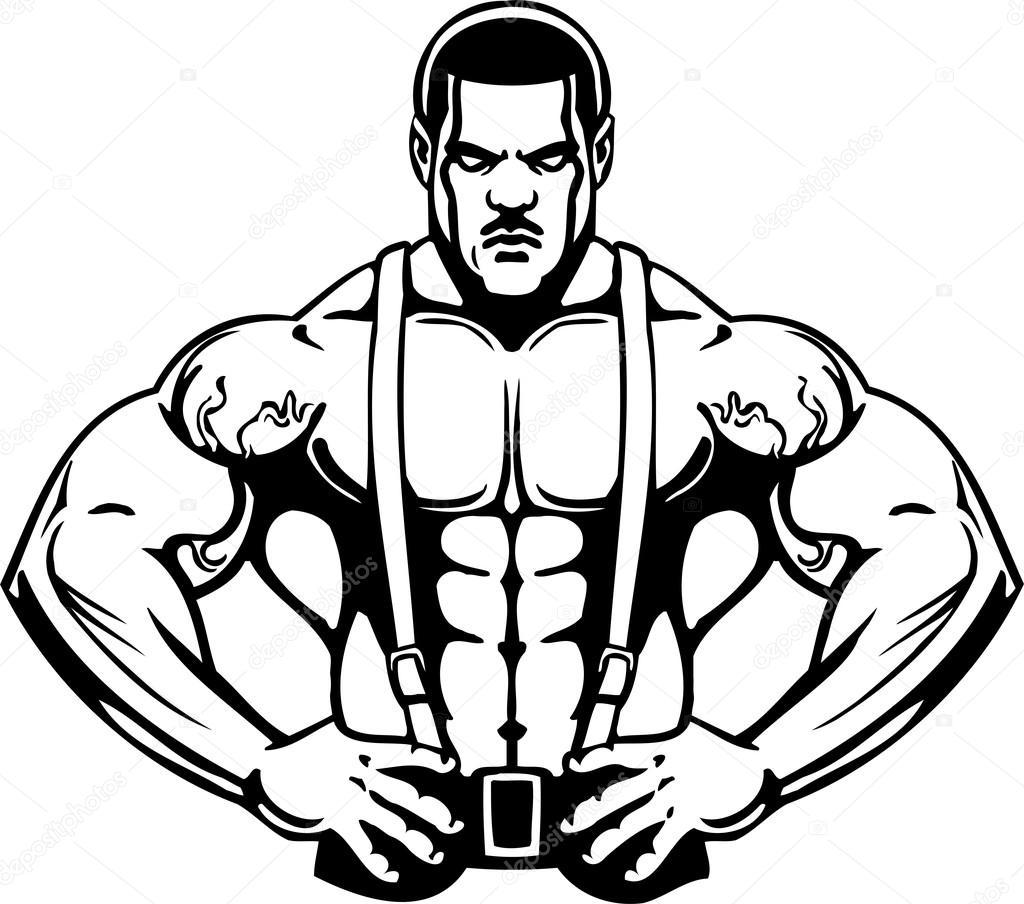 Clipart Bodybuilding