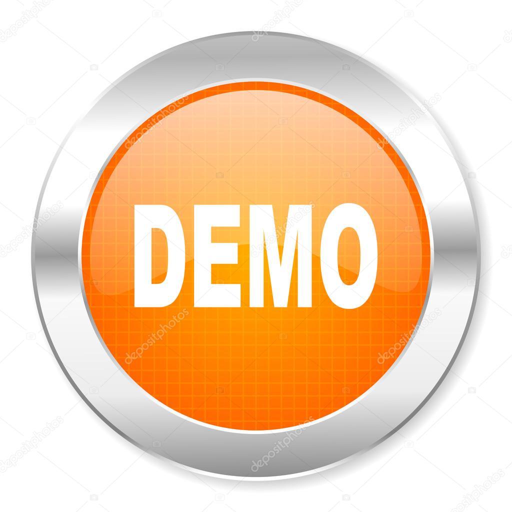 Demo Icon — Stock Photo © Alexwhite #29855965