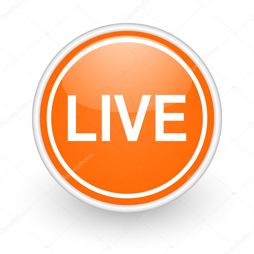 Live Icon — Stock Photo © Alexwhite #40104767