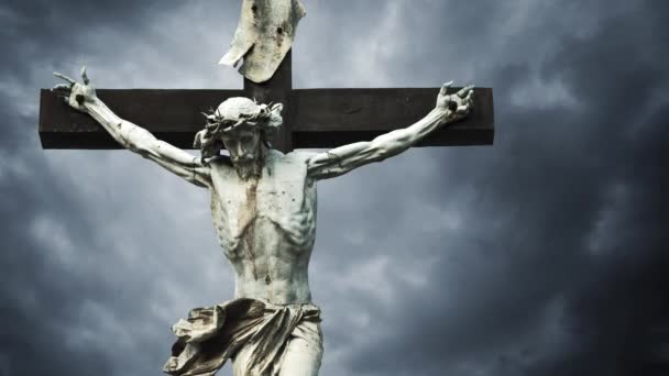 crucifixion christian cross with