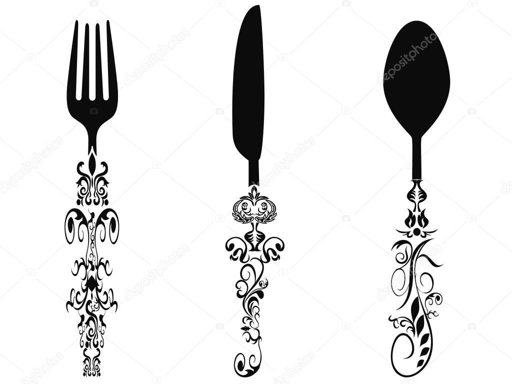 Ornament Cutlery Set
