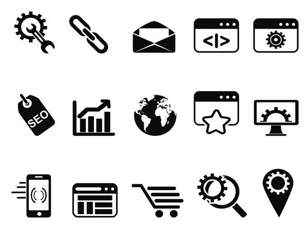 email symbol icons set — Stock Vector © huhulin #19601791