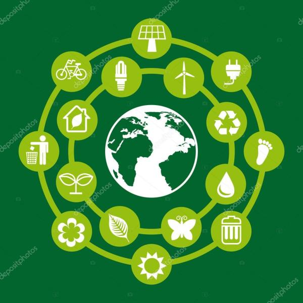 Protect Environment Stock Vector Yupiramos #33185245