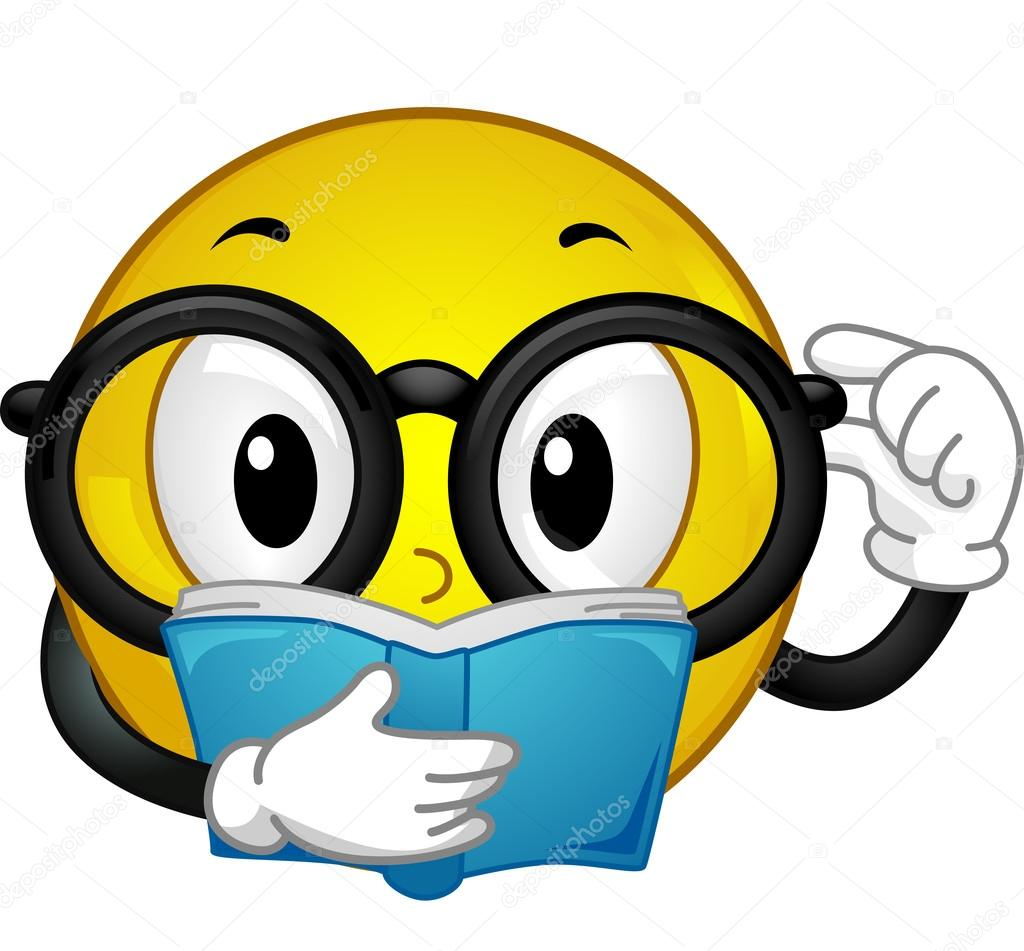 hight resolution of smiley bookworm stock photo