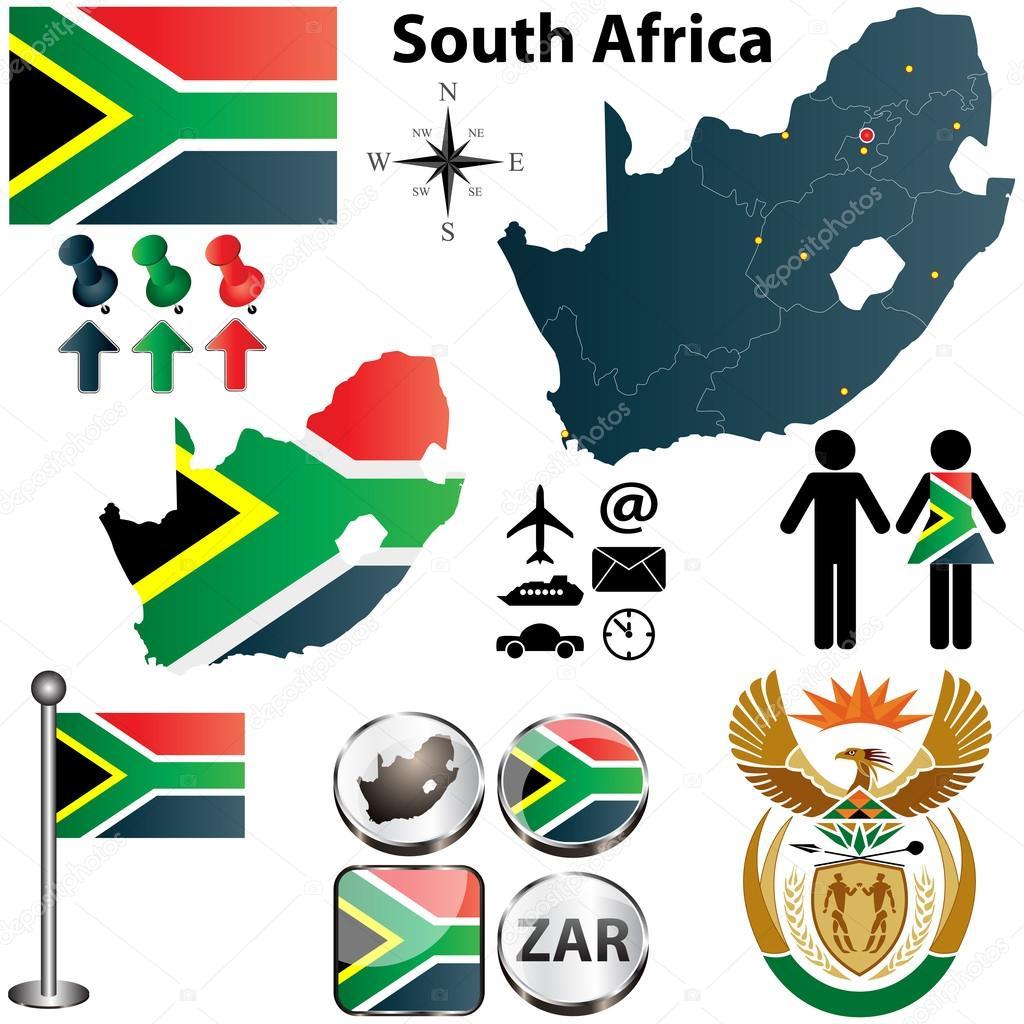 Mapa Ji Ni Afrika S Regiony