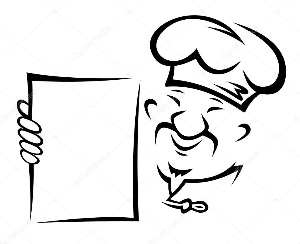 Chinese Chef With Menu