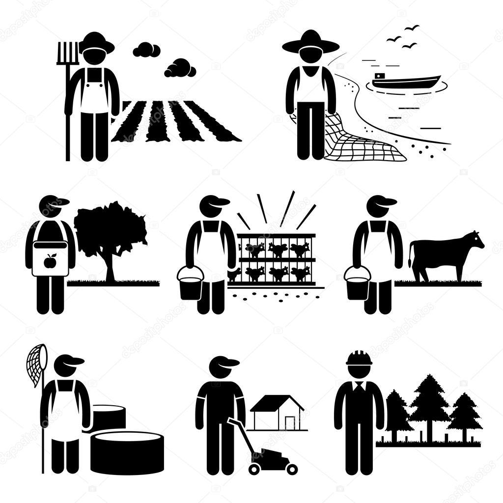 Landwirtschaft-Plantage Landwirtschaft Geflügel Fischerei