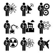Vecteurs pour Mécanique, Illustrations libres de droits