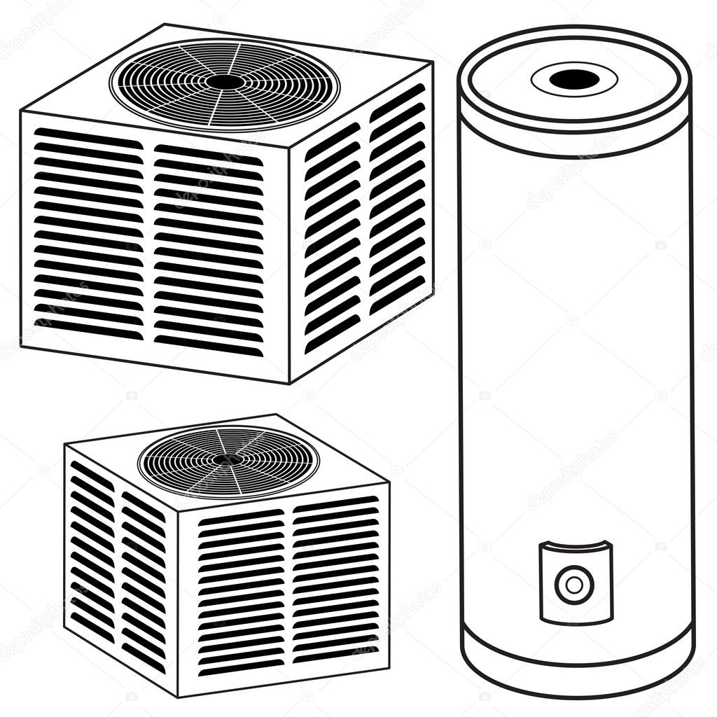 Water Heater And Air Conditioner