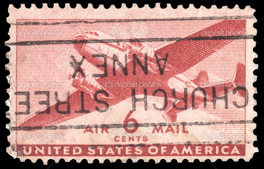 6 Cent Airmail Stamp Value