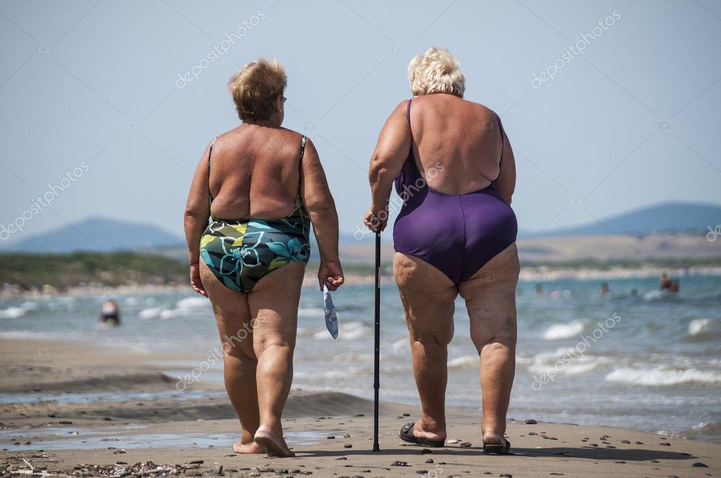 Imágenes Gordibuenas En La Playa Ancianas Y Gordas
