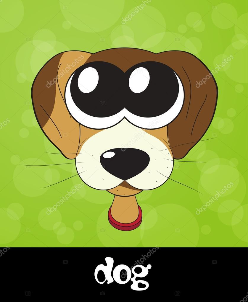 Cartoon Dog Eyes : cartoon, Cartoon, Puppy, (dog), Stock, Photo,, Image, Marina_ua, #22992464