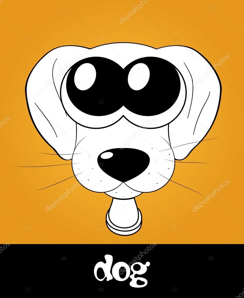 Cartoon Dog Eyes : cartoon, Puppy, Cartoon, Cuteanimals