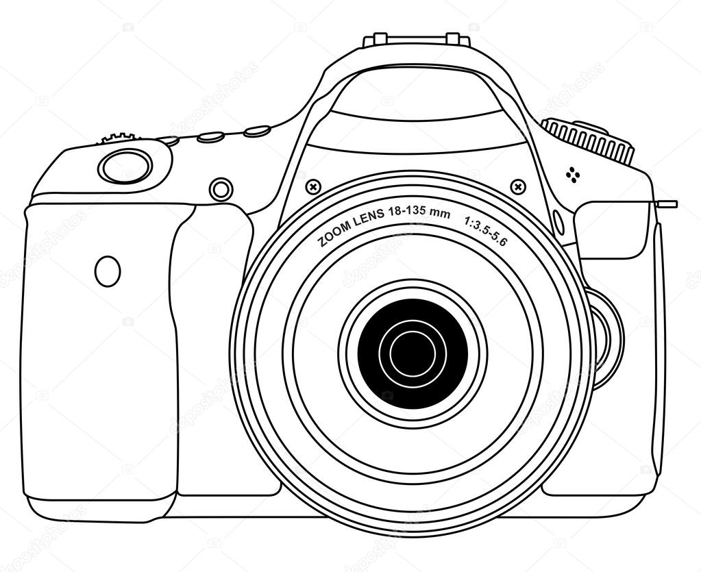 Tumblr Polaroid Camera Coloring Coloring Pages