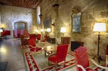 Luxurious living room of medieval castle Stock Photo © James633 #38932649
