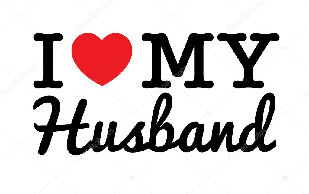 Download Pictures: love for my husband | I Love My Husband — Stock ...