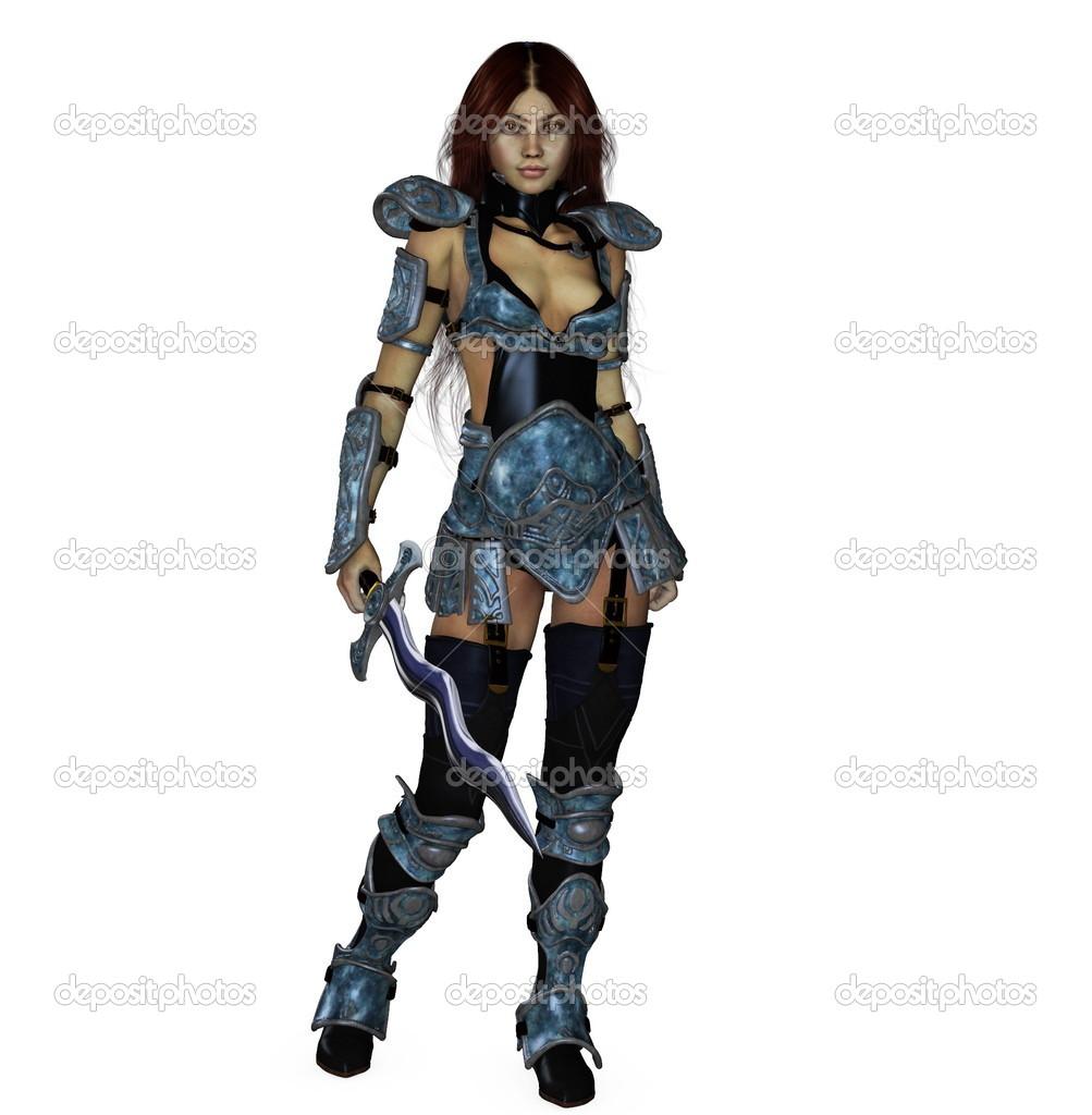 Wield Sword Poses Anime Dual
