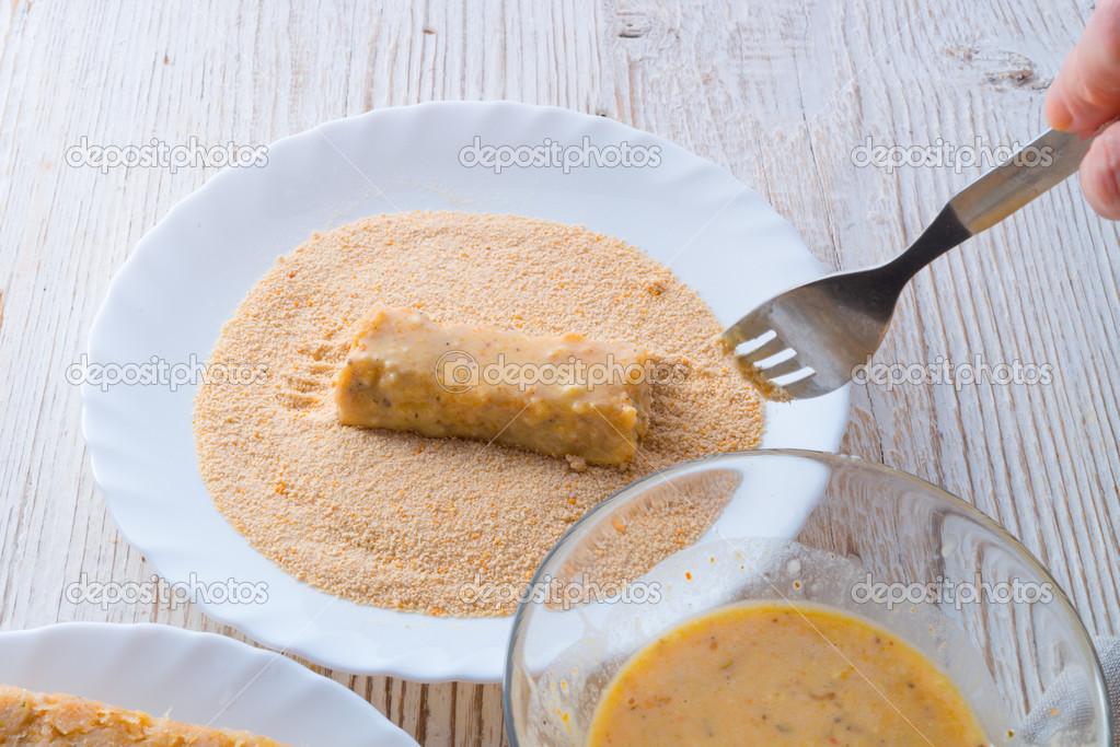 Risultati immagini per immagine bastoncini di pesce con farina di cocco