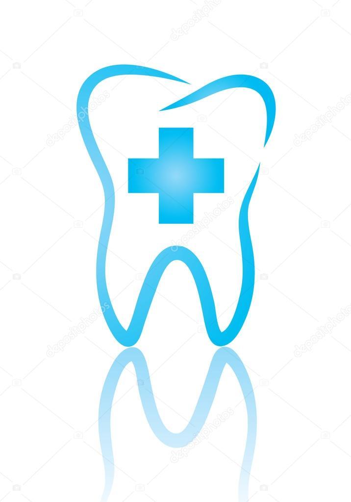 symbol dentistry stock vector