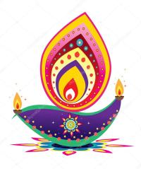 Diwali Candle Light  Stock Vector  alkkdsg #32128375