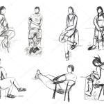 32 Mensch Sitzend Zeichnen Besten Bilder Von Ausmalbilder